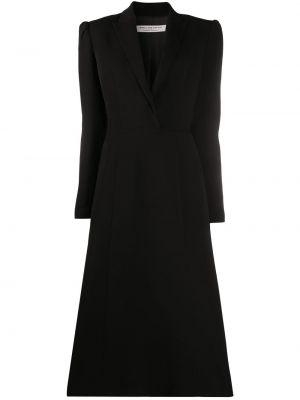 Платье макси длинное - черное Philosophy Di Lorenzo Serafini