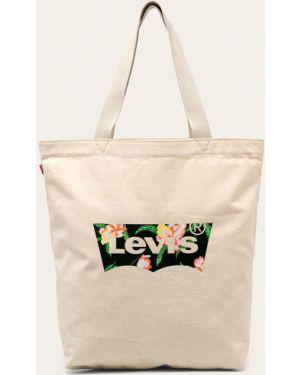 Torebka bawełniana z printem Levi's