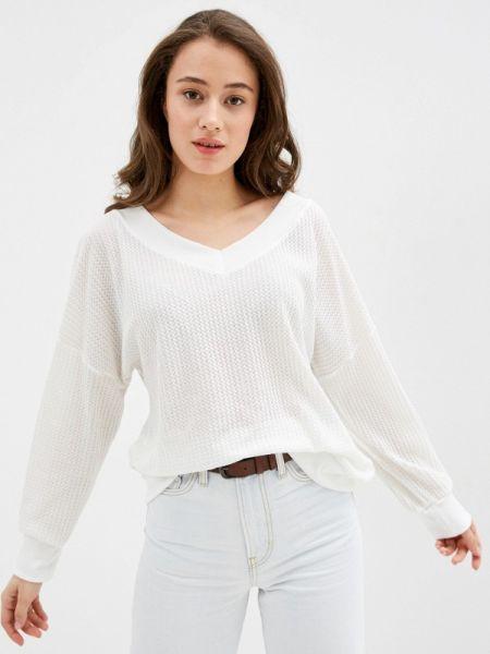 Пуловер - белый Marissimo