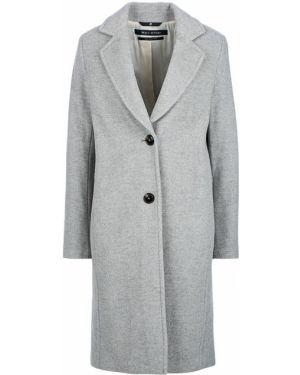 Пальто серое шерстяное Marc O`polo
