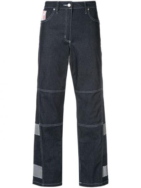 Укороченные джинсы стрейч в стиле бохо Lærke Andersen