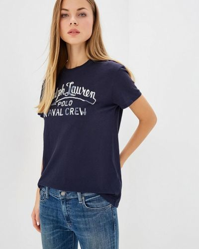 Синяя футболка 2019 Polo Ralph Lauren
