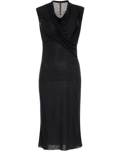 Платье из ангоры из штапеля Rick Owens