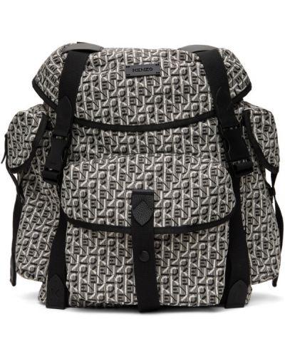 Czarny plecak skórzany Kenzo