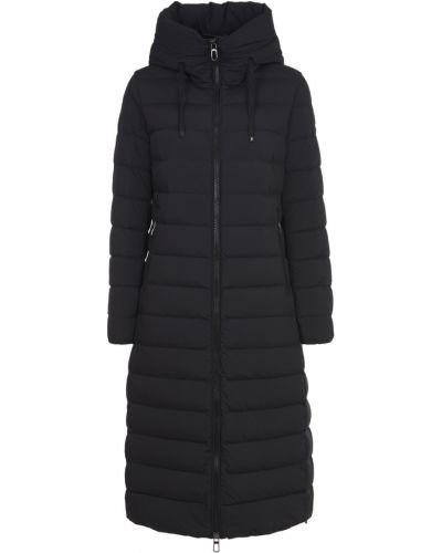 Czarny płaszcz Duno