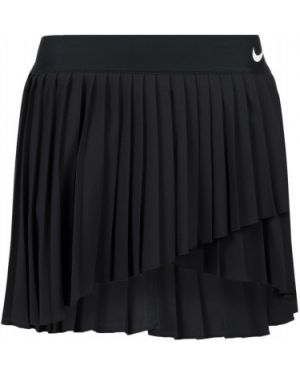 Черная теннисная спортивная плиссированная юбка для сна Nike