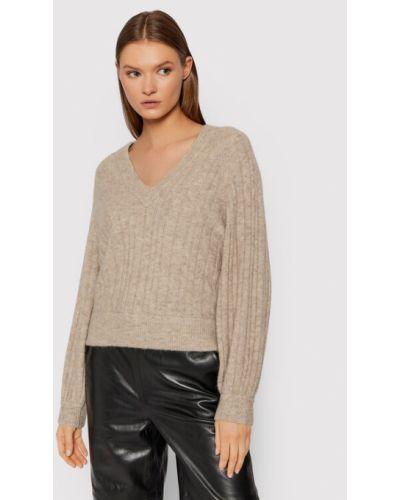 Brązowy sweter Gestuz