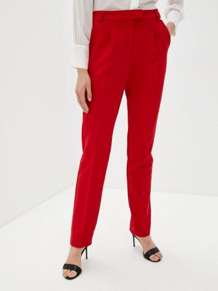 Классические брюки весенний красный Blugirl Folies