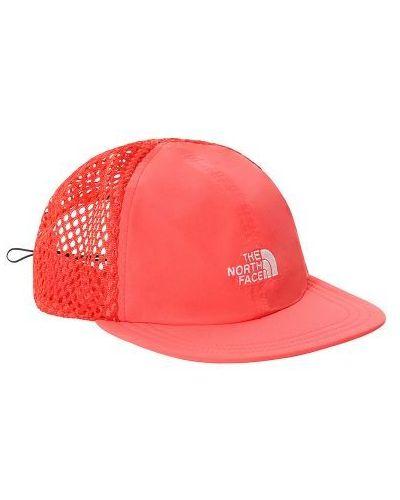 Czerwona czapka z siateczką The North Face