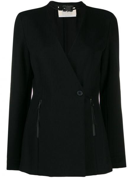 Черный удлиненный пиджак с карманами 1017 Alyx 9sm