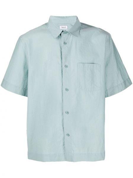 Koszula krótkie z krótkim rękawem prosto z kołnierzem Filippa K