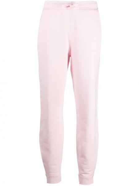 Różowy bawełna bawełna fajki do spodni z kieszeniami Rag & Bone