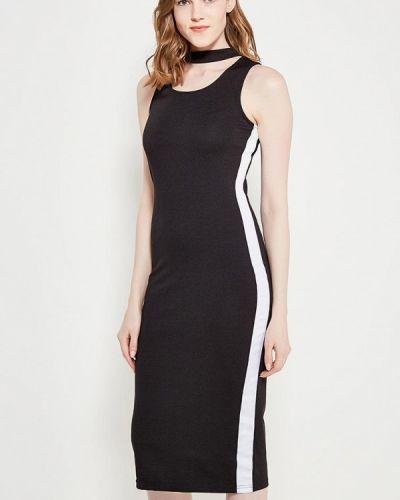 Черное платье весеннее Modis