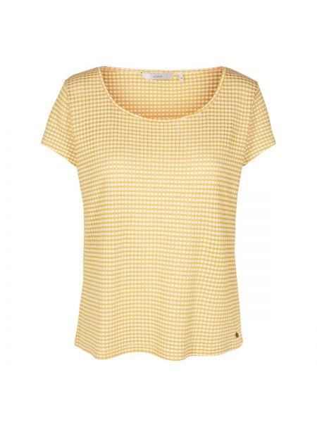 Футбольная желтая футболка с круглым вырезом с короткими рукавами NÜmph