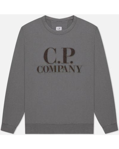 Серая флисовая толстовка C.p. Company