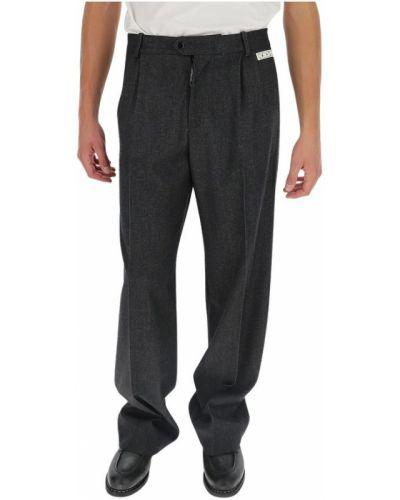 Spodnie wełniane zapinane na guziki Off-white
