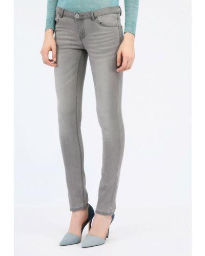 Зауженные джинсы - серые Monton