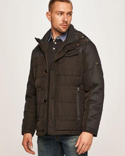 Утепленная куртка с капюшоном укороченная Pierre Cardin