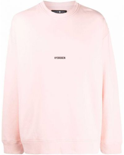 Różowa bluza z długimi rękawami Hydrogen