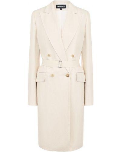 Пальто бежевое пальто Ann Demeulemeester