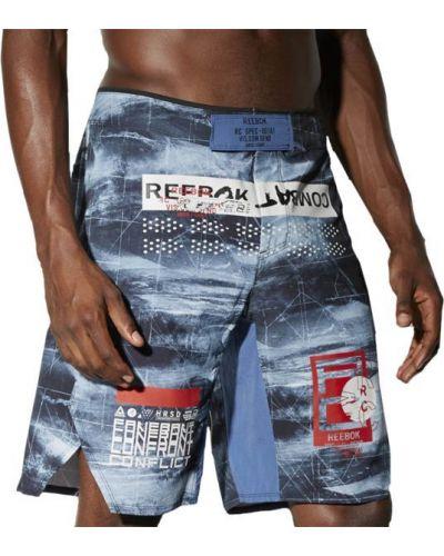 Спортивные шорты эластичные с поясом Reebok