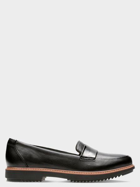 Текстильные брендовые туфли для офиса Clarks