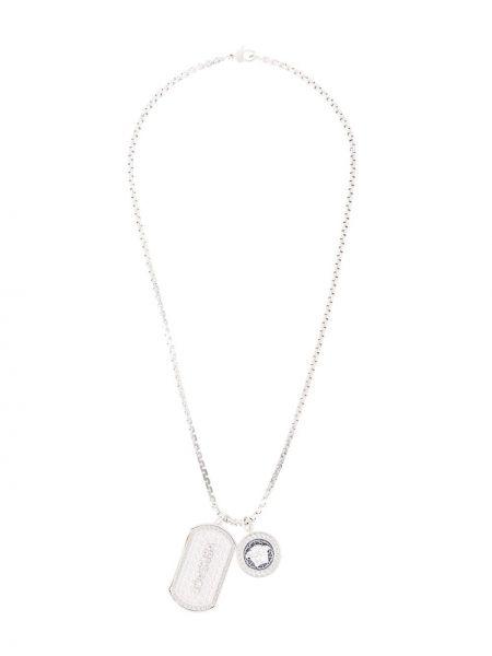 Naszyjnik ze srebra srebro Versace