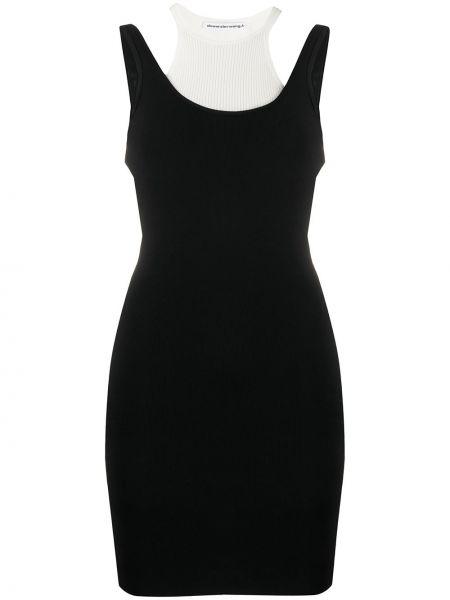 Платье с открытой спиной с вырезом T By Alexander Wang
