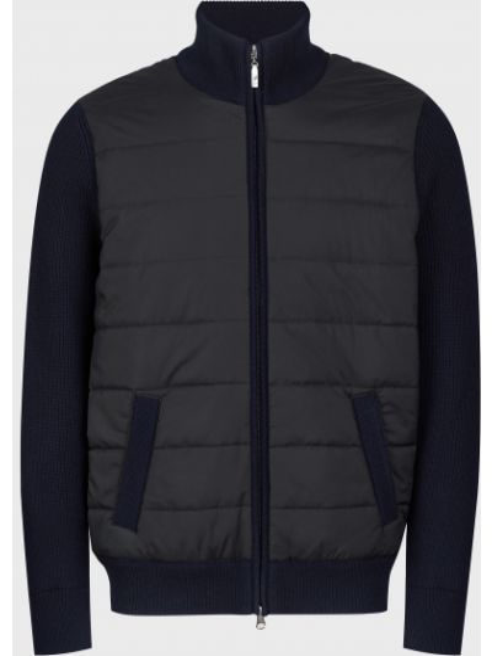 Куртка на молнии - синяя Barba Napoli