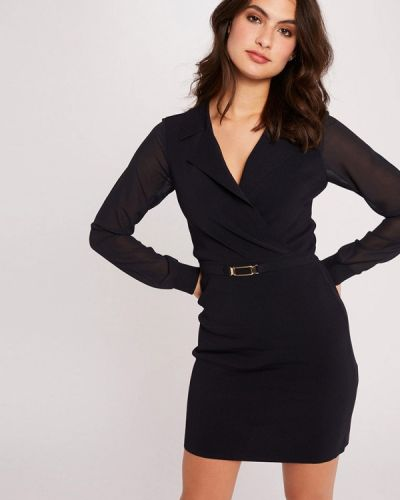 Прямое черное платье Morgan