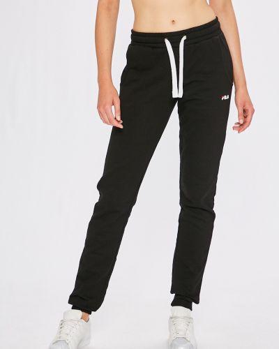 Спортивные брюки на резинке с карманами Fila