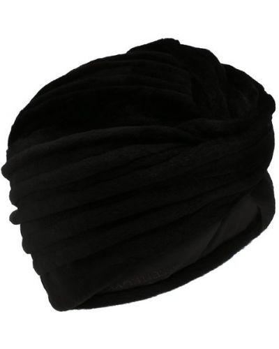Черная шапка норковая Kussenkovv