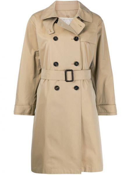 Пальто классическое с карманами двубортный с воротником Max Mara