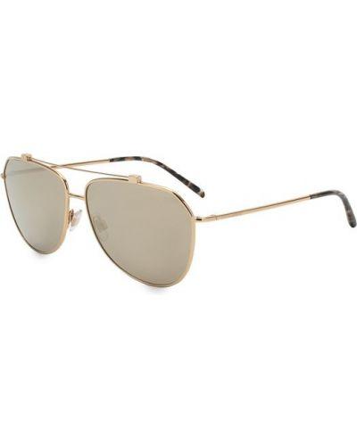 Солнцезащитные очки авиаторы металлические Dolce & Gabbana