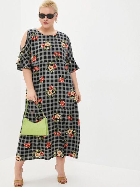 Черное повседневное платье Intikoma
