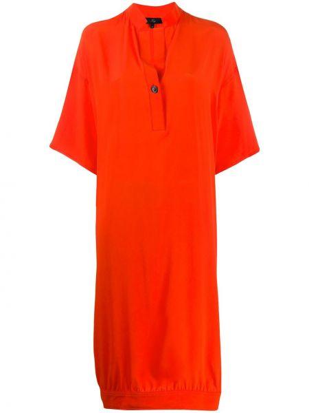 Платье миди на пуговицах платье-рубашка Fay