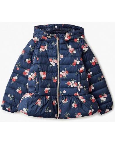Куртка теплая синий Zarina