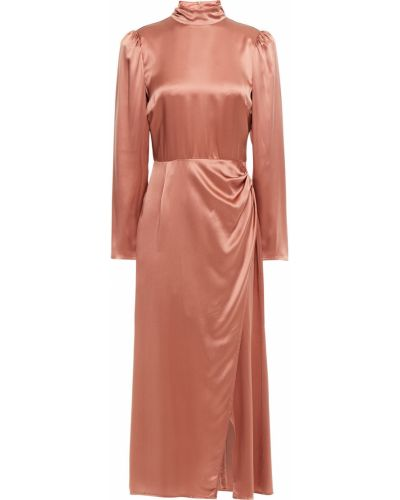 Шелковое платье миди Reformation