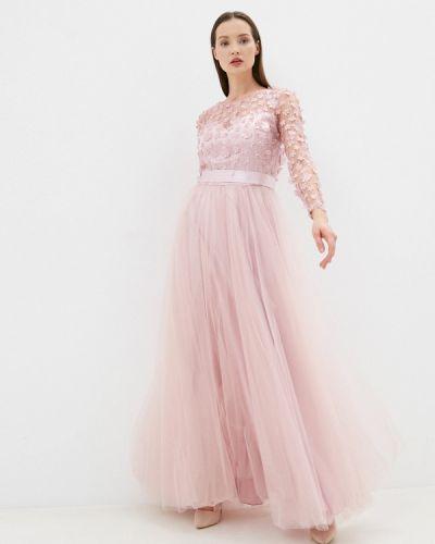 Вечернее платье - розовое Seam