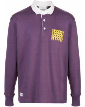 Фиолетовый прямой классический пиджак Rowing Blazers