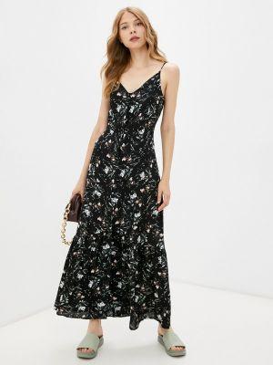 Прямое платье - черное Moru