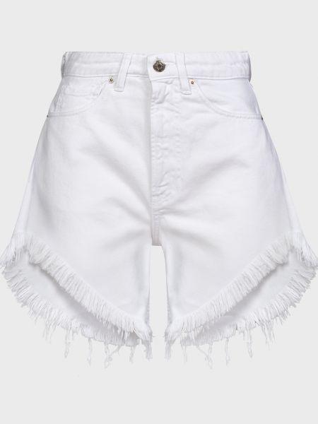 Хлопковые шорты - белые Vicolo
