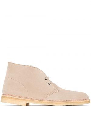Кожаные ботинки на шнуровке Clarks Originals