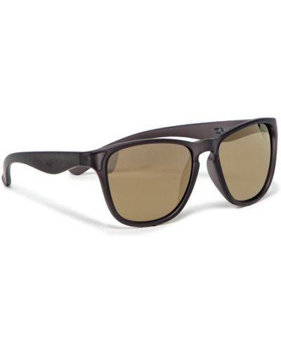 Czarne okulary 4f