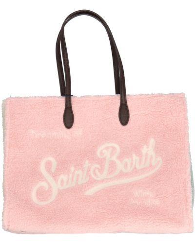 Różowa torebka Mc2 Saint Barth