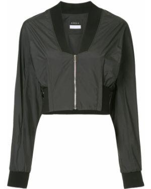 Черная короткая куртка Demoo Parkchoonmoo