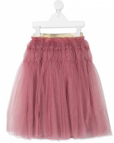 Пышная фиолетовая юбка из фатина с поясом Raspberry Plum