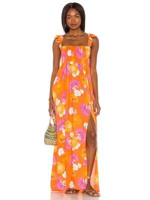 Платье с карманами - розовое Agua Bendita