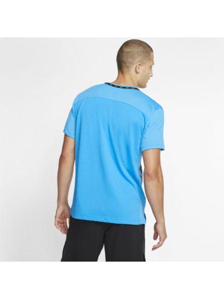 Koszula krótkie z krótkim rękawem niebieski Nike