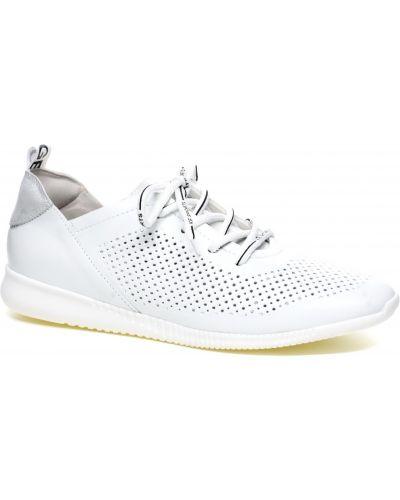 Кожаные кроссовки - белые Gloria